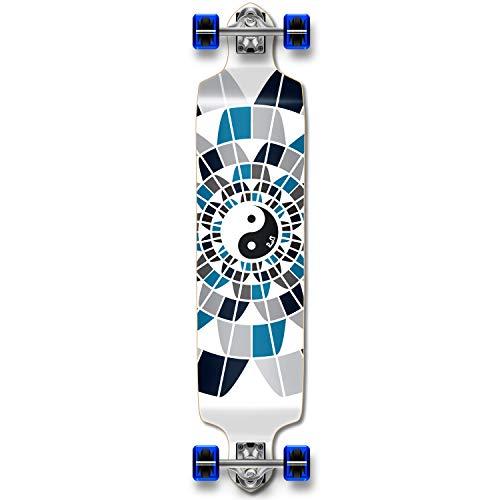 ロングスケートボード スケボー 海外モデル 直輸入 Dropdown-Yingyang Professinal Speed Drop Down Complete Longboard Skateboard (Ying Yang)ロングスケートボード スケボー 海外モデル 直輸入 Dropdown-Yingyang