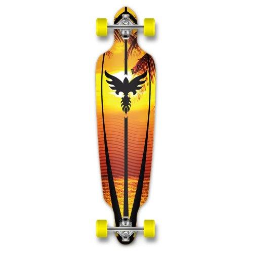 ロングスケートボード スケボー 海外モデル 直輸入 Dropthrou-Sunset New Graphics Drop Through Complete Longboard Professional Speed Skateboard (Sunset)ロングスケートボード スケボー 海外モデル 直輸入 Dropthrou-Sunset