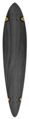 """ロングスケートボード スケボー 海外モデル 直輸入 Blank Longboard Deck PINTAIL 40"""" X 9"""" board W/, Blackロングスケートボード スケボー 海外モデル 直輸入"""