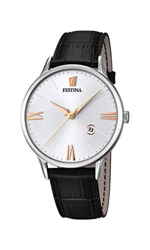 フェスティナ フェスティーナ スイス 腕時計 メンズ FESTINA Watch Classic Male Only Time Leather Black - f16824-3フェスティナ フェスティーナ スイス 腕時計 メンズ