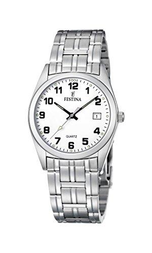 フェスティナ フェスティーナ スイス 腕時計 メンズ 【送料無料】Festina Klassik F8825/4 Mens Wristwatch Solid Caseフェスティナ フェスティーナ スイス 腕時計 メンズ
