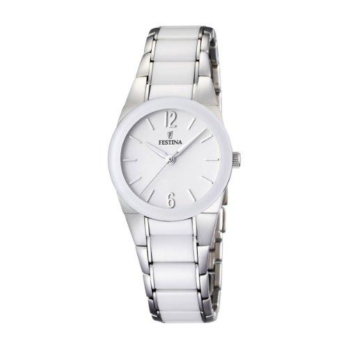 フェスティナ フェスティーナ スイス 腕時計 レディース 【送料無料】Festina Ceramic Collection Women's Solid Caseフェスティナ フェスティーナ スイス 腕時計 レディース
