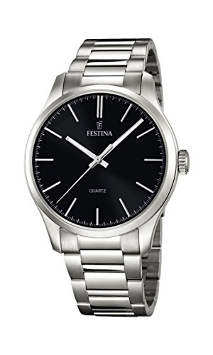 フェスティナ フェスティーナ スイス 腕時計 レディース 【送料無料】Festina Men's Quartz Watch with Stainless Steel Strap, Silver, 22 (Model: F16807/2)フェスティナ フェスティーナ スイス 腕時計 レディース