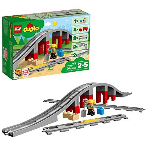 レゴ デュプロ 【送料無料】LEGO DUPLO Train Bridge and Tracks 10872 Building Blocks (26 Pieces)レゴ デュプロ