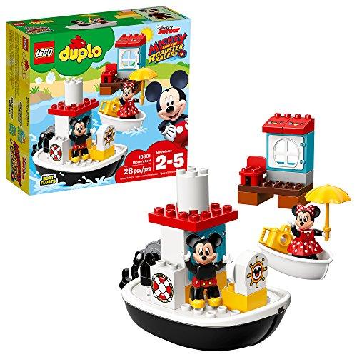 レゴ デュプロ 【送料無料】LEGO DUPLO Mickey's Boat 10881 Building Blocks (28 Pieces)レゴ デュプロ