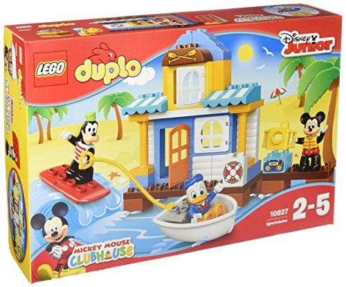 レゴ デュプロ 【送料無料】Lego DUPLO Disney Junior Mickey & Friends Beach House, Preschool, Pre-Kindergarten Large Building Block Toys for Toddlersレゴ デュプロ