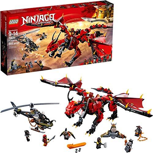 レゴ ニンジャゴー 【送料無料】LEGO NINJAGO Masters of Spinjitzu: Firstbourne 70653 Ninja Toy Building Kit with Red Dragon Figure, Minifigures and a Helicopter (882 Pieces)レゴ ニンジャゴー