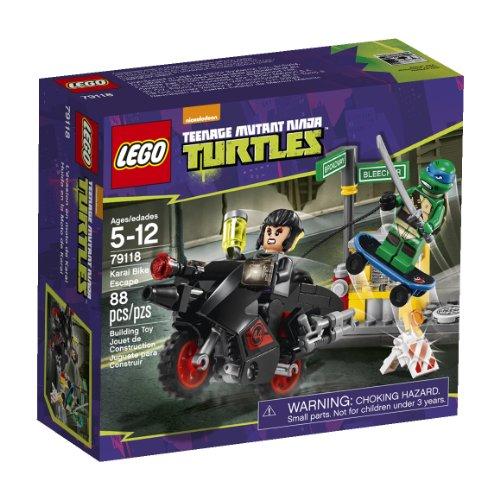 レゴ ニンジャゴー 【送料無料】LEGO, Teenage Mutant Ninja Turtles, Karai Bike Escape Building Set (79118)レゴ ニンジャゴー