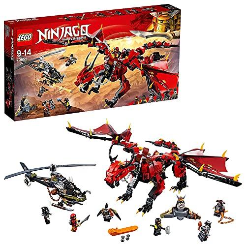 レゴ ニンジャゴー LEGO Ninjago Firstbourne Playset, Dragon & Hunter Helicopter Toy, Build & Play Dragon Toys for Kidsレゴ ニンジャゴー