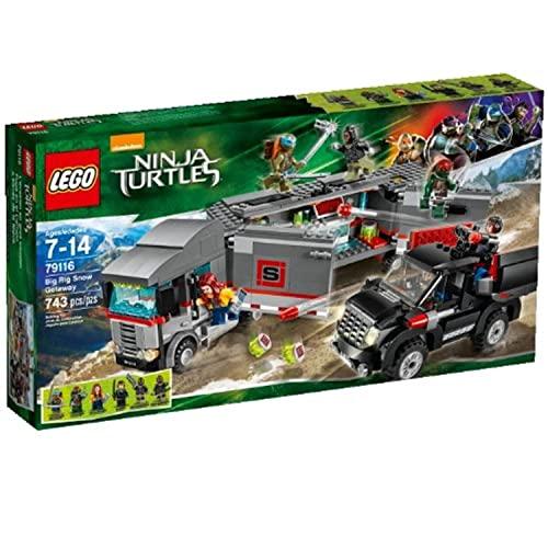 レゴ ニンジャゴー LEGO Ninja Turtles 79116 Big Rig Snow Getaway Building Setレゴ ニンジャゴー