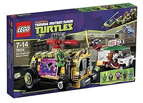 レゴ ニンジャゴー 【送料無料】LEGO Teenage Mutant Ninja Turtles - The Shellraiser Street Chase (79104)レゴ ニンジャゴー