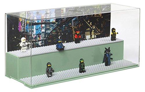 レゴ ニンジャゴー 【送料無料】LEGO Green Play & Display Case Ninja Go Movie Sand, 19.2 x 39.8 x 14.9 cmレゴ ニンジャゴー