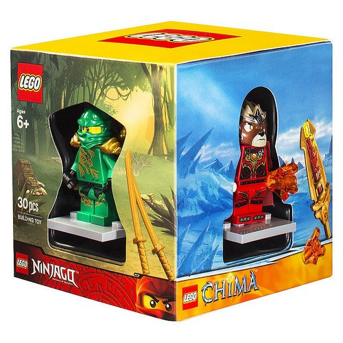 レゴ ニンジャゴー Lego Exclusive minifigure 4 pack box set, Superboy, Green ninja Lloyd, Lavertus, and City Adventure Rangerレゴ ニンジャゴー