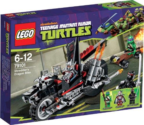 レゴ ニンジャゴー Ninja Turtles - Shredder's Dragon Bike - 79101レゴ ニンジャゴー