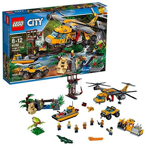 レゴ シティ 【送料無料】LEGO City Jungle Explorers 6174645 Air Drop Helicopter, Multiレゴ シティ