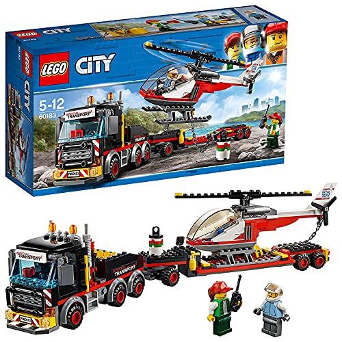 レゴ シティ LEGO City Great Vehicles Heavy Cargo Transport Playset, Toy Truck & Helicopter, Construction Set for Kidsレゴ シティ