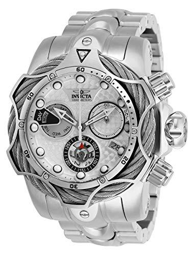 インヴィクタ インビクタ 腕時計 メンズ Invicta Men's Reserve Quartz Watch with Stainless Steel Strap, Silver, 26 (Model: 26653)インヴィクタ インビクタ 腕時計 メンズ