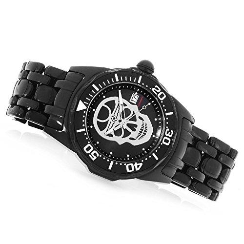 インヴィクタ インビクタ 腕時計 メンズ Invicta Men's Lupah Automatic-self-Wind Watch with Stainless-Steel Strap, Black, 24 (Model: 24409)インヴィクタ インビクタ 腕時計 メンズ