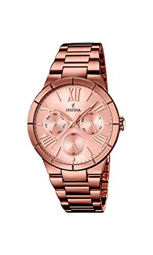 フェスティナ フェスティーナ スイス 腕時計 レディース 【送料無料】Festina F16798/1 - Women's Watch, Stainless Steel placcato, color:Brownフェスティナ フェスティーナ スイス 腕時計 レディース