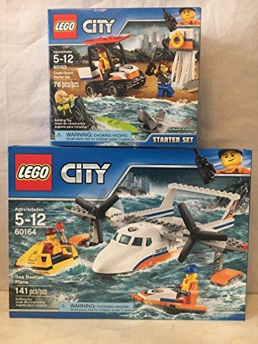 レゴ シティ 【送料無料】LEGO City Coast Guard Sea Rescue Plane & LEGO City Coast Guard Starter Setレゴ シティ