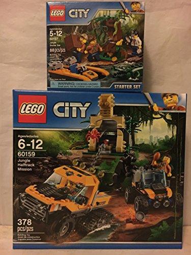レゴ シティ LEGO City Jungle Halftrack Mission & LEGO City Jungle Starter Setレゴ シティ