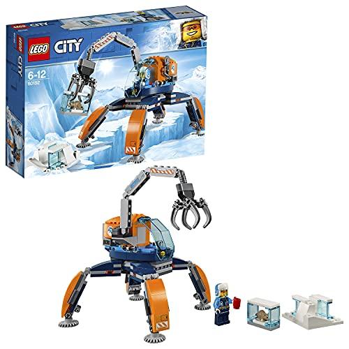 レゴ シティ LEGO City Arctic Ice Crawler, Winter Expedition Vehicle Toy, Heavy Snow Craneレゴ シティ