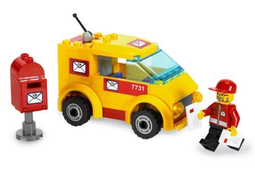 レゴ シティ Lego City Set #7731 Mail Vanレゴ シティ