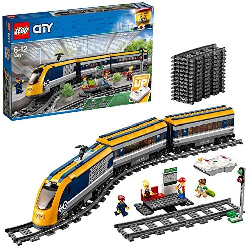 レゴ シティ LEGO City Passenger Rc Train Toy, Construction Track Set for Kidsレゴ シティ