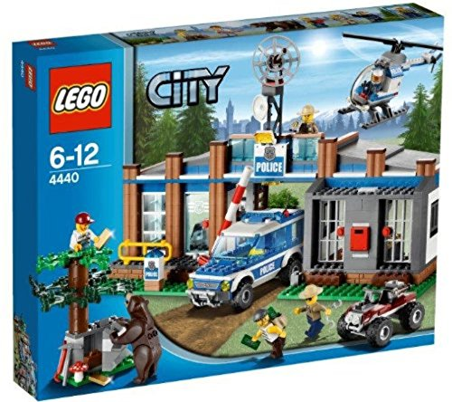 レゴ シティ LEGO CITY Forest Police Station w/ Helicopter & 5 Minifigures | 4440レゴ シティ