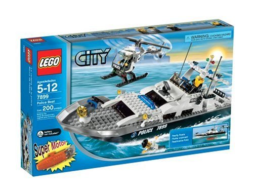 レゴ シティ 【送料無料】LEGO City Police Boatレゴ シティ