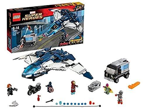 レゴ シティ 【送料無料】LEGO (LEGO) Super Heroes Avengers Quinn jet of City Chase 76032レゴ シティ