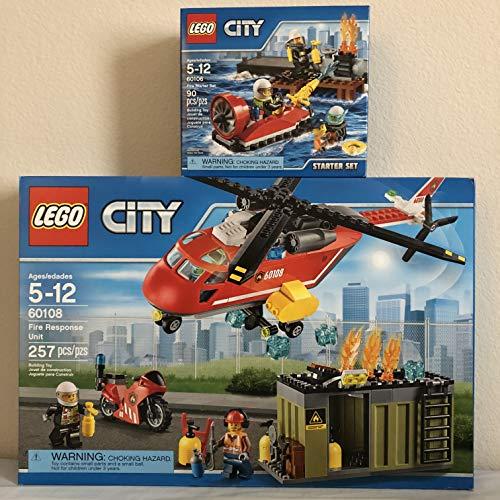 レゴ シティ LEGO City Fire Response Unit & LEGO City Fire Starter Setレゴ シティ
