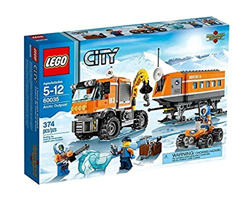 レゴ シティ LEGO CITY Arctic Outpost with Lab, Truck, ATV and 3 Minifigures | 60035レゴ シティ