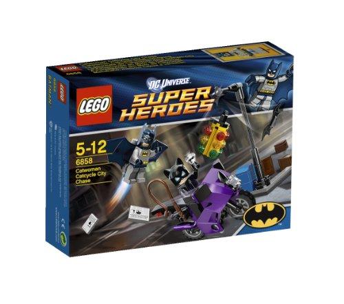レゴ シティ 【送料無料】Lego Super Heroes 6858: Catwoman Catcycle City Chaseレゴ シティ