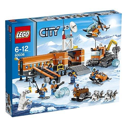 レゴ シティ LEGO (LEGO) City Snow base camp and crawler drill 60036レゴ シティ