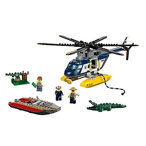 レゴ シティ Lego City Swamp Police Helicopter Pursuit - 60067 by LEGOレゴ シティ