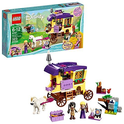 レゴ ディズニープリンセス 【送料無料】LEGO 6213314 Disney Princess Rapunzel's Traveling Caravan 41157 Building Kit (323 Piece), 5 x 3 x 5, Assortedレゴ ディズニープリンセス