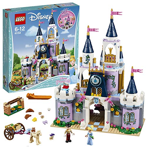 レゴ ディズニープリンセス 【送料無料】LEGO 41154 Disney Princess Cinderella's Dream Castle Toy, Fairytale Doll House, Prince Charming & Cinderella Mini Dollレゴ ディズニープリンセス
