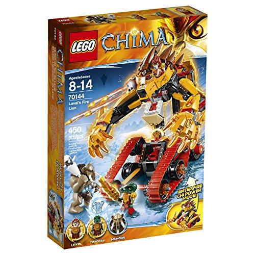レゴ チーマ 【送料無料】LEGO Chima 70144 Laval's Fire Lion Building Toyレゴ チーマ