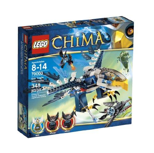 レゴ チーマ 【送料無料】LEGO Chima Eris Eagle Interceptor 70003レゴ チーマ