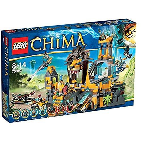レゴ チーマ 【送料無料】LEGO Chima 70010 The Lion CHI Temple (Discontinued by manufacturer)レゴ チーマ