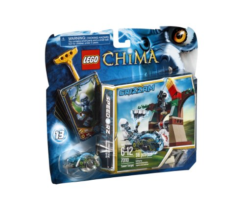 レゴ チーマ 【送料無料】LEGO Chima 70110 Tower Targetレゴ チーマ