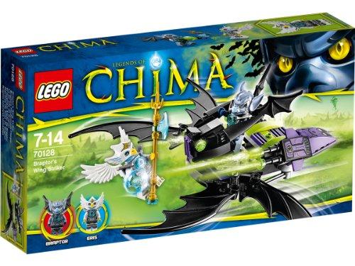 レゴ チーマ Legends of Chima - Playthemes - Braptor's Wing Striker - 70128レゴ チーマ