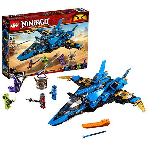 レゴ チーマ LEGO NINJAGO Legacy Jay's Storm Fighter 70668 Building Kit, New 2019 (490 Pieces)レゴ チーマ