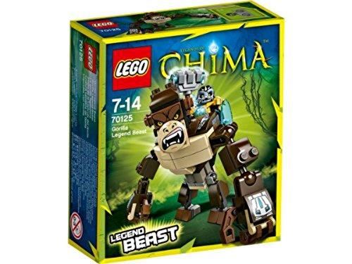 レゴ チーマ 【送料無料】LEGO Legends of Chima 70125: Gorilla Legend Beastレゴ チーマ