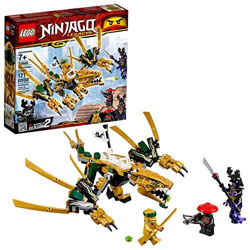 レゴ チーマ 【送料無料】LEGO NINJAGO Legacy Golden Dragon 70666 Building Kit (171 Pieces)レゴ チーマ