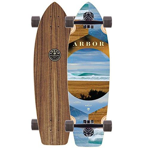 アーバー ロングスケートボード スケボー 海外モデル アメリカ直輸入 【送料無料】Arbor Walnut Rally Skateboard Completeアーバー ロングスケートボード スケボー 海外モデル アメリカ直輸入