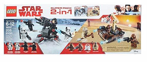 レゴ スターウォーズ 【送料無料】LEGO Star Wars 66597 Super Battle Pack 2 in 1 Includes 75198 Tatooine and 75197 First Order Specialist Packs, Multi-Coloredレゴ スターウォーズ