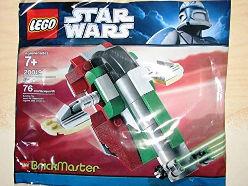 レゴ スターウォーズ 【送料無料】LEGO Star Wars BrickMaster Exclusive Mini Building Set #20019 Slave I Baggedレゴ スターウォーズ