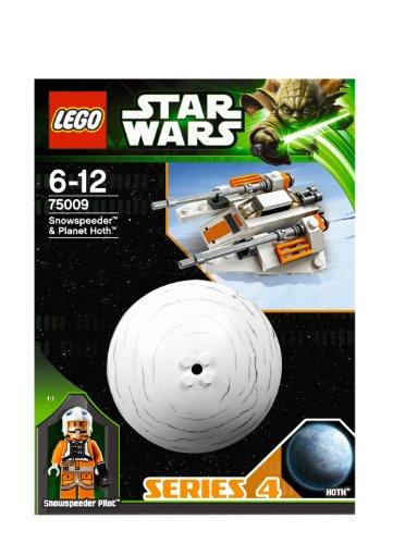 レゴ スターウォーズ 【送料無料】Lego Star Wars 75009 Snowspeeder & Hoth Planet Set New in Box Special Gift Fast Shipping and Ship Worldwideレゴ スターウォーズ